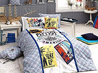 """Подростковый комплект постельного белья First Choice """"SURF"""", ранфорс Delux 3D"""