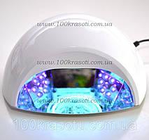 УФ LED Лампа + CCFL для сушки ногтей с гель лаком
