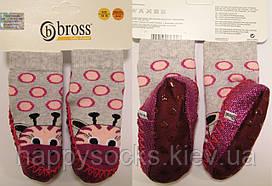 """Теплые носки-тапочки для детей """"Bross"""" 6-12 мес./18-19р(11,5см) 2"""