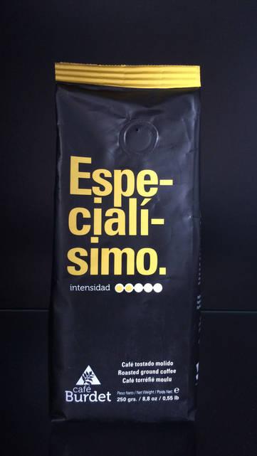 Молотый Кофе Cafe Burdet Especialisimo 0.250г