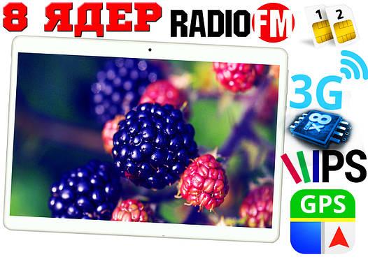 Планшет телефон Lenovo K10T,8 ядер, 10'', 2Gb RAM, GPS, 2 sim, 3G/4G