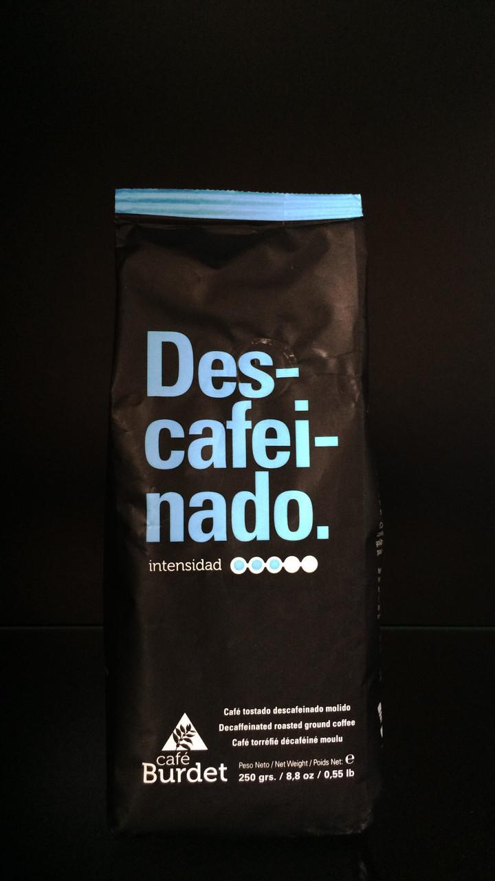 Молотый Кофе Без Кофеина Cafe Burdet Descafeinado 0.250г