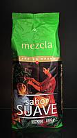 Испанский Зерновой Кофе HACENDADO Mezcla Sabor Fuerte 1кг