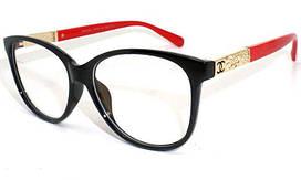 Имиджевые Очки Chanel с красной дужкой