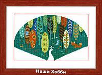 """Набор для вышивания крестом ВТ-174 """"В царстве леса"""" Crystal Art"""