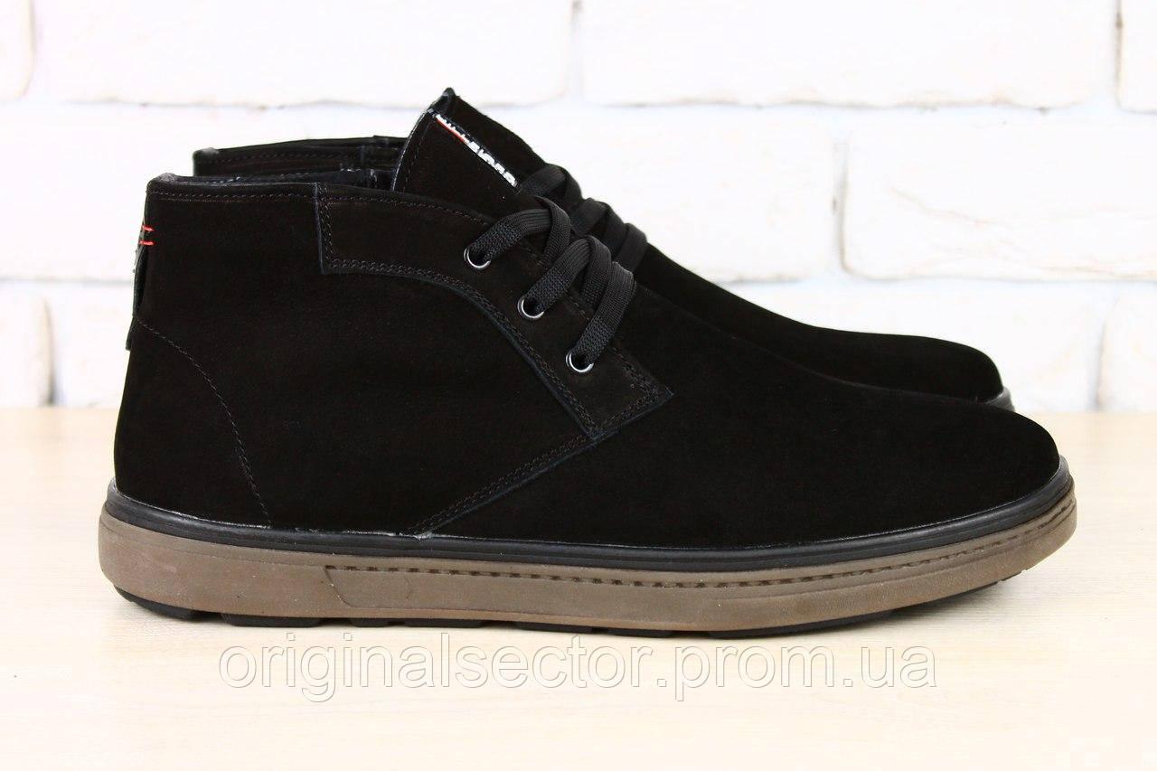 05ee7d82b мужские замшевые ботинки зимние в стиле Tommy Hilfiger продажа по