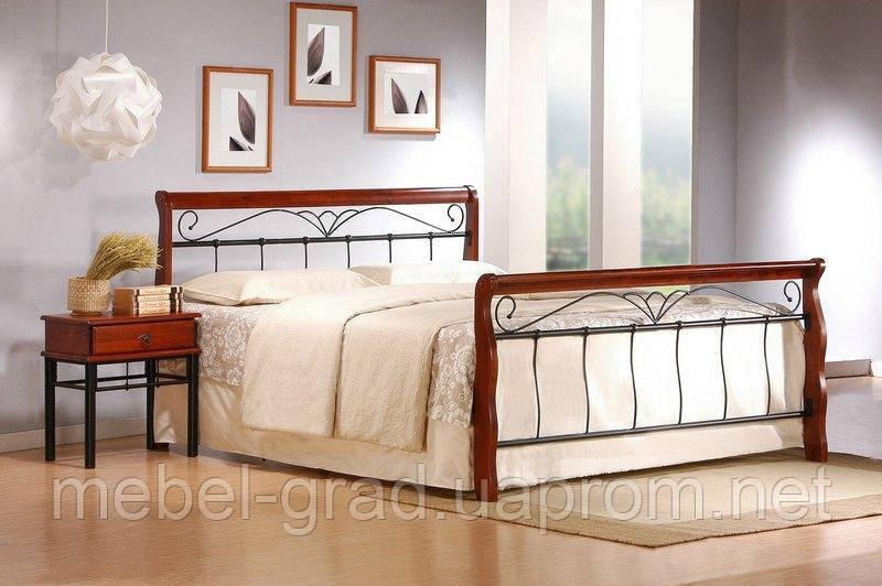 Кровать двухспальная Veronica / Вероника Halmar 180х200