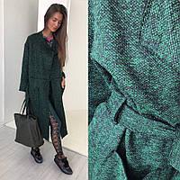 Женский модный кардиган с наружными швами, фото 1