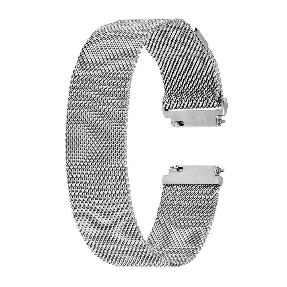 Браслет для часов из нержавеющей стали, миланский стиль. 20-й размер.