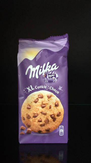 Печенье Milka XL Cookies Choco 184г