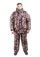 Зимний костюм для охоты и рыбалки, теплый и надежный,полукомбенизон штаны