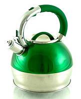 Чайник 2.7L Metlex 1945 зеленый