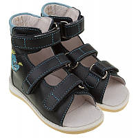 Босоножки Ortofoot О-121 лечебные (12-14 см), детская ортопедическая обувь