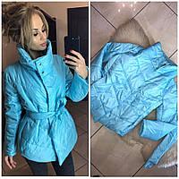 Куртка зима Kristin 851,  ГОЛУБОЙ