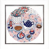 """Набор для вышивания крестом ВТ-188 """"Завтрак"""" Crystal Art"""