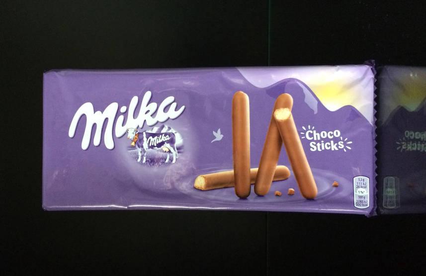 Шоколадные Палочки MIlka Choco Sticks 112г