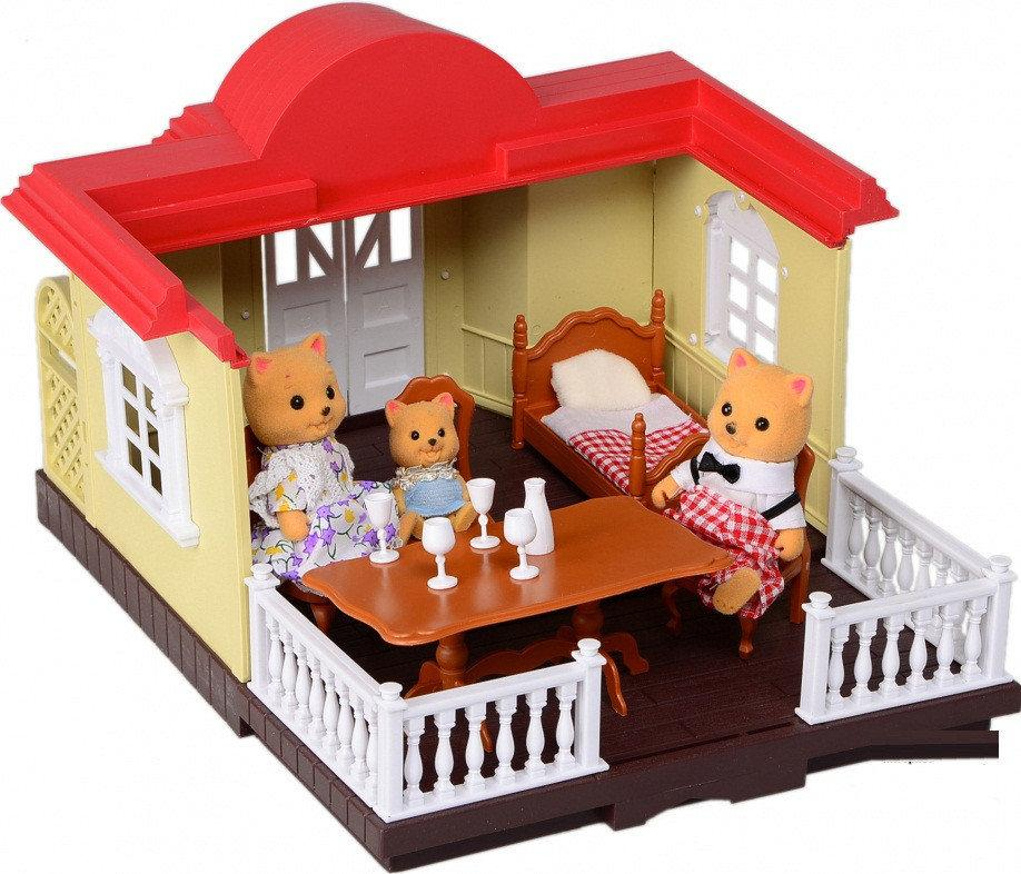 Ігровий набір тварини флоксовые Happy Family, 012-04