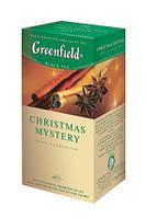 Greenfield Christmas Mystery черный чай в пакетиках, 25 шт