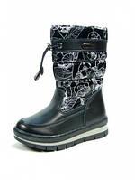 Детские зимние ботинки Apawwa:L-419 Черный, р. 26-31