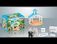Животные флоксовые Happy Family Сведебная церемония 012-09