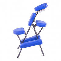 Стул для массажа Spirit воротниковой зоны- синый, Стул для массажа шейной и воротниковой зоны
