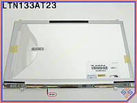 "Экран, дисплей 13.3"" Samsung LTN133AT23-801 LED SLIM ( Матовая, 1366*769,  40pin слева внизу, Без Доп. Панели! Ушки сверху снизу). Матрица для"