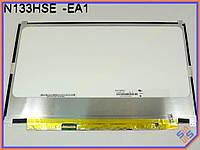 """Экран, дисплей 13.3"""" Chi mei N133HSE-EA1 (1920*1080, 30Pin EDP слева, LED Slim (ушки сверху/снизу), Матовая). Матрица для ноутбука ASUS Zenbook Prime"""