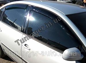 Ветровики, дефлекторы окон Volkswagen Passat B5 1997-2005 (Hic)