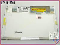 """Экран, дисплей 14.1"""" SAMSUNG LTN141BT09 LED Normal (Матовая, 40 pin справа вверху. WXGA 1280*800). Матрица для ноутбуков LENOVO 14.1"""""""