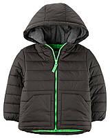 Зимняя дутая куртка с флисом Carters на мальчика 2-5 лет Fleece-Lined Puffer Jacket