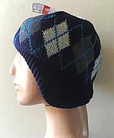 Стильные шапки для мальчиков утепленные флисом от C&A Германия размеры 146-170 рост ребенка , фото 1