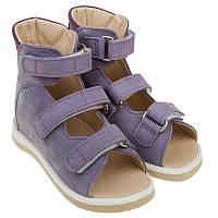 Босоножки Ortofoot О-121 лечебные (23-25 см), детская ортопедическая обувь