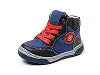 Детские ботинки Clibee:P-106 Синий, р. 21-26
