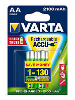 Аккумулятор  AA 2100mAh VARTA RECHARGEABLE BLI 2 (READY 2 USE)