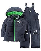 Зимняя куртка и комбинезон Carters на мальчика 2-5 лет Snowsuit Set