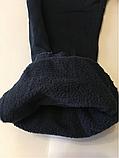 Катоновые штаны (т.синие) на флисе для мальчиков 110 см, фото 3