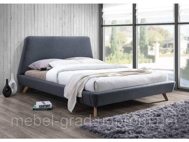 Кровать двухспальная Gant Signal серый 160х200