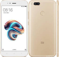 Смартфон Xiaomi Mi A1 4/32 Gold Snapdragon 625 Android 7.1.1 3080 мАч.