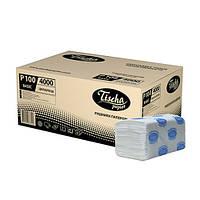 Полотенца бумажные BASIC (ящик/20 пачек по 160 листов)