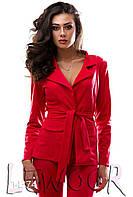 Праздничный костюм пиджак и лосины, пояс в комплекте, фото 1