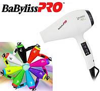 Фен для волос BaByliss PRO BAB6350IE Luminoso Bianco