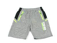 Детская одежда шорты:CSQ-39018 св.Серый+Салат, р. 134-164
