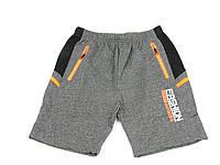 Детская одежда шорты:CSQ-39018 т.Серый+Оранж, р. 134-164