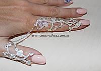 Кольцо на два пальца Восточная сказка, фото 1