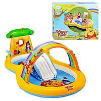 Детский игровой центр Intex Винни Пух 282х173х107 см 57136