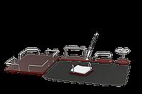 Деловой подарочный настольный набор Bestar ( 6 предметов) красное дерево2017