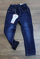 Утепленные джинсы на флисе для девочек 2   лет
