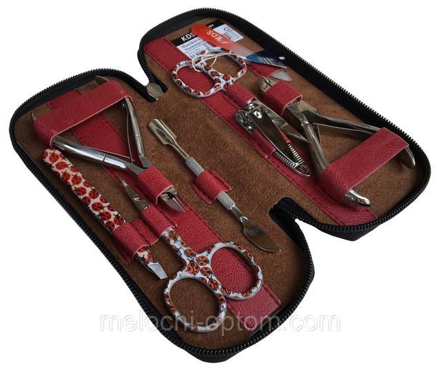 Маникюрные наборы KDS (8 инструментов) на змейке