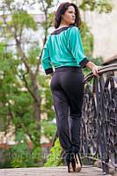 Женский костюм с брюками дг713