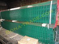 Панельный забор из сварной сетки L2.5м